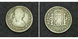 1 Real Virreinato de Nueva España (1519 - 1821) Plata Carlos IV de España (1748-1819)
