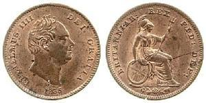 1/3 Farthing United Kingdom of Great Britain and Ireland (1801-1922) Copper William IV (1765-1837)