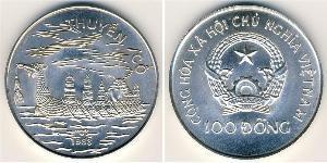 100 Dong Viêt Nam Argent