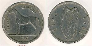 1/2 Krone Ireland (1922 - ) Copper/Nickel