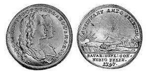 1 Ducat Electorate of Bavaria (1623 - 1806) Gold Maximilian III Joseph, Elector of Bavaria (1727 – 1777)