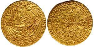 1 Ryal Königreich England (927-1649,1660-1707) Gold Edward IV (1442-1483)