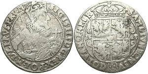 1/4 Thaler Polish-Lithuanian Commonwealth (1569-1795) 銀