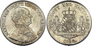 1 Thaler Kingdom of Bavaria (1806 - 1918) Silver