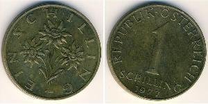 1 Shilling Republic of Austria (1955 - ) Ottone