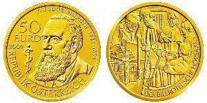 50 Euro Republik Österreich (1955 - ) Gold