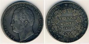 2 Талер князівство Гессен-Кассель (1567 - 1806) Срібло