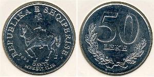 50 Lek Albanien