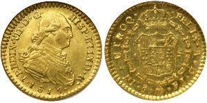 1 Escudo Chili Or Ferdinand VII d