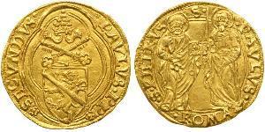 1 Дукат Папська держава (752-1870) Золото Павло II (1417-1471)