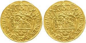 1 Ducat Royaume du Danemark et de Norvège (1536-1814) Or Christian V de Danemark (1646 -1699)