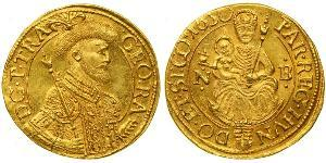 1 Ducat 外西凡尼亞公國 (鄂圖曼帝國) (1570 - 1711) 金 György Rákóczi II,  prince of Transylvania (1621 -1660)