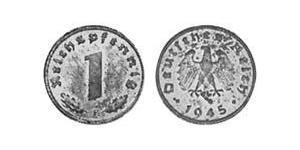 1 Reichpfennig Alemania nazi (1933-1945) Zinc