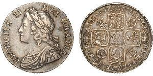 1 Shilling Royaume de Grande-Bretagne (1707-1801) Argent George II (1683-1760)