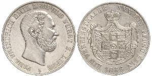 1 Талер Липпе-Детмольд (1123 - 1918) Срібло Leopold III, Prince of Lippe