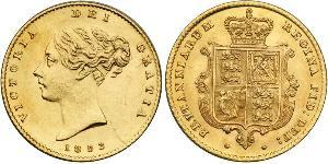 1/2 Sovereign United Kingdom of Great Britain and Ireland (1801-1922) Gold Victoria (1819 - 1901)