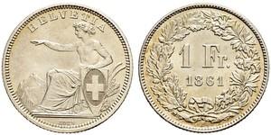 1 Франк Швейцария Серебро