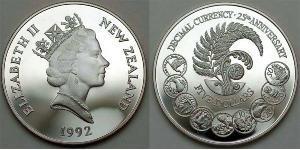 5 Dollaro Nuova Zelanda