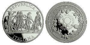 10 Euro 意大利 銀
