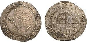 1/2 Crown Kingdom of England (927-1649,1660-1707) Silver James I (1566-1625)
