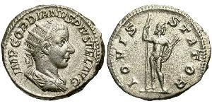 Antoninien Empire romain (27BC-395) Argent Gordien III(225-244)