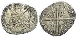 Королівство Англія (927-1649,1660-1707) Срібло Річард II (1367-1400)