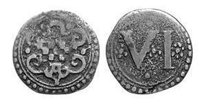 6 Pfennig Altena (1152 - 1609) Cobre
