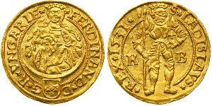 1 Gulden Habsburg Empire (1526-1804) Or Ferdinand Ier du Saint-Empire (1503-1564)
