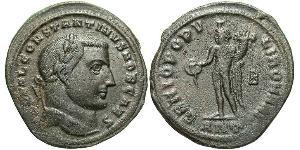 1 Follis Impero romano (27BC-395) Bronzo Costantino I (272 - 337)