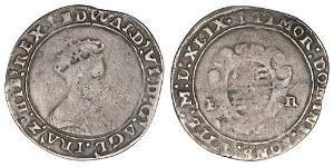 1 Шиллинг Королевство Англия (927-1649,1660-1707) Серебро Эдуард VI  (1537-1553)