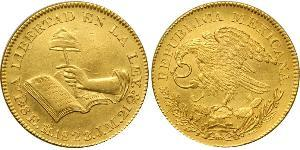 8 Escudo Kaiserreich Mexiko (1821 - 1823) Gold