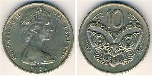 10 Cent Nuova Zelanda Rame/Nichel