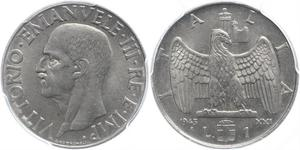 1 Lira 意大利王國 (1861-1946) Steel