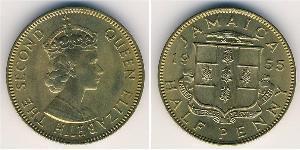 1/2 Penny Jamayica (1962 - ) Bronze