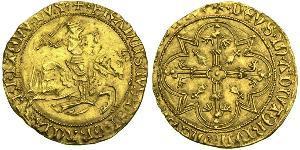 1 Экю Франкське королівство (843-1791) Золото Francis II, Duke of Brittany (1433 – 1488)
