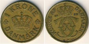 1 Крона Данія Бронза/Алюміній