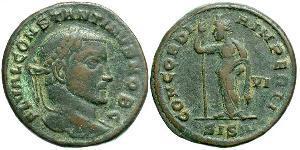 1 Follis Empire romain (27BC-395) Bronze Constantin I (272 - 337)
