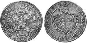 1 Thaler Ducato di Baviera (907 - 1623) Argento