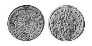 3 Kreuzer Électorat de Bavière (1623 - 1806) Argent