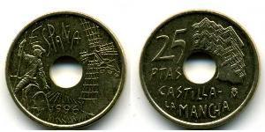 25 Песета Королевство Испания (1976 - )