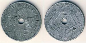 10 Centime Belgique Zinc
