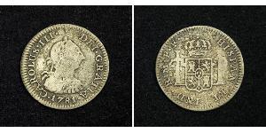 1 Реал Мексика Серебро