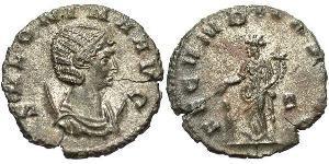 1 Antoninianus 羅馬帝國  Salonina (?-268)