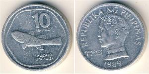 10 Сентимо Филиппины Алюминий