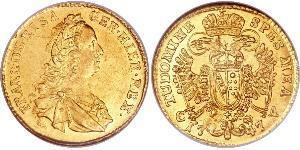 1 Ducat Holy Roman Empire (962-1806) Gold Francis I, Holy Roman Emperor (1708-1765)