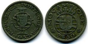2,5 Escudo Mozambique Copper/Nickel