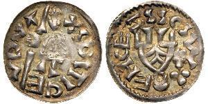 1 Dinar 波希米亚 銀