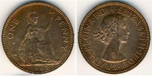 1 Penny Reino Unido Bronce