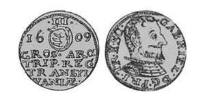 3 Groschen Principality of Transylvania (1571-1711) Plata