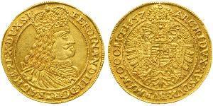 1 Ducat 奥地利历史 (1156 - 1806) / 神圣罗马帝国 (962 - 1806) 金 斐迪南三世 (神圣罗马帝国) (1608-1657)